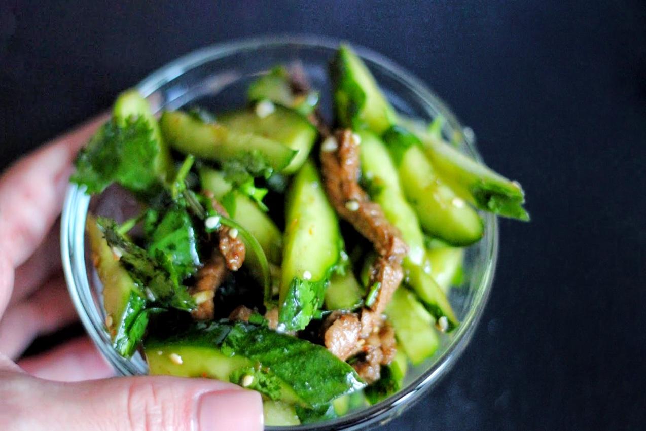 Огурцы с мясом по-корейски рецепт с фото пошагово - nu 65